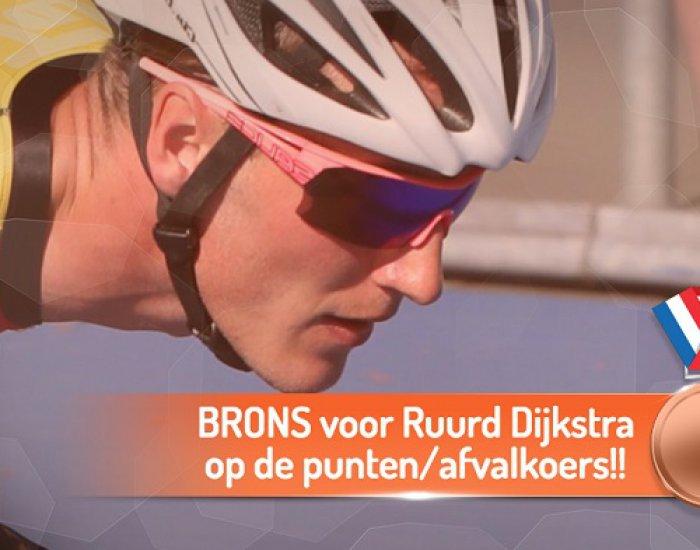 Brons Ruurd Dijkstra EK Oostende