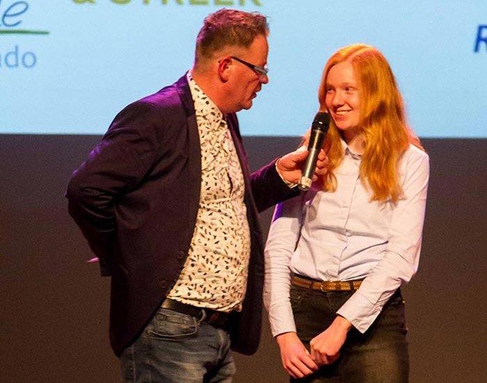 Lisan van der Linde sporttalent Steenwijkerland…